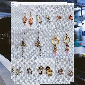 Korean style earring bundle